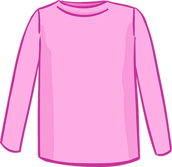 pink long sleeved tshirt